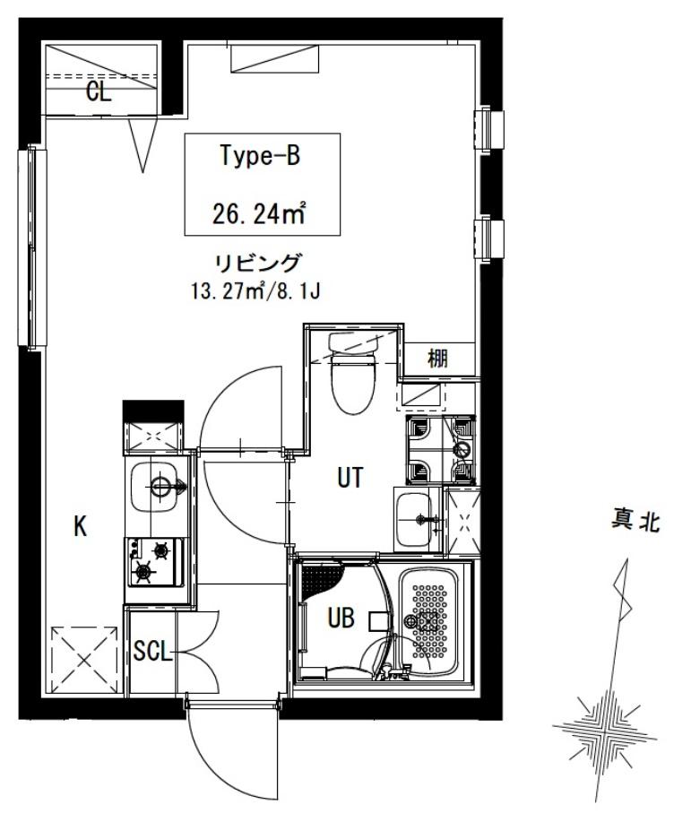 101号室:108,000円