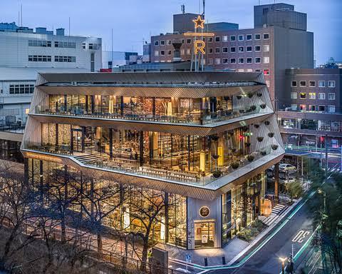 あの有名なスターバックスリザーブロースタリー東京も近くですよ