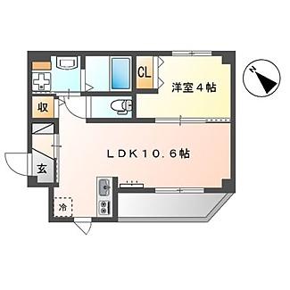 102号室(35.49㎡)14.2000円