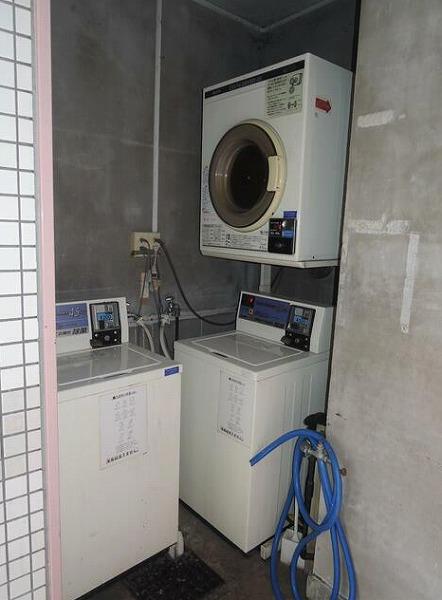 共有部:洗濯機、乾燥機